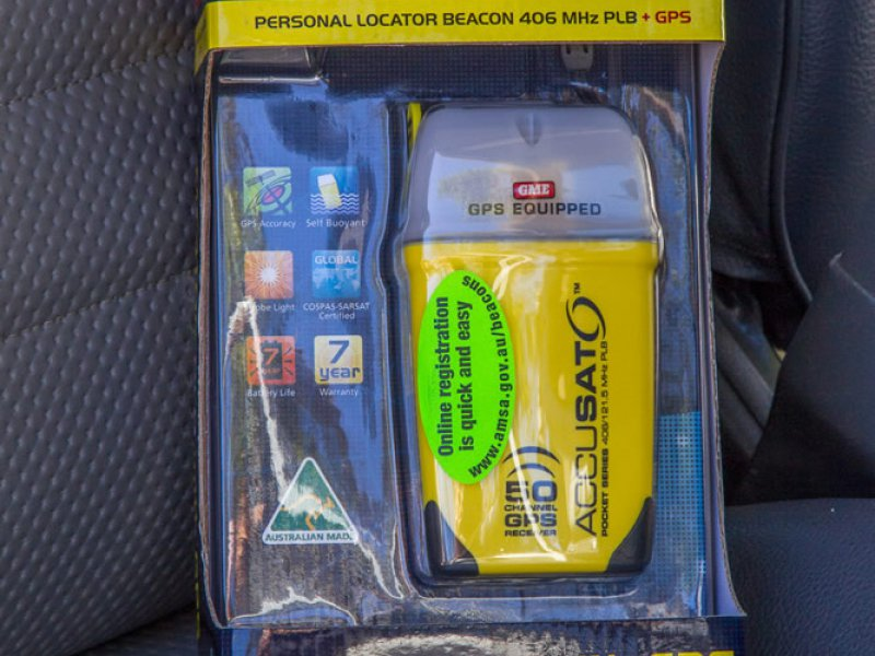 Personal Locator Beacon PLB for saftey on remote trips in the Australian Outback - WA Experts