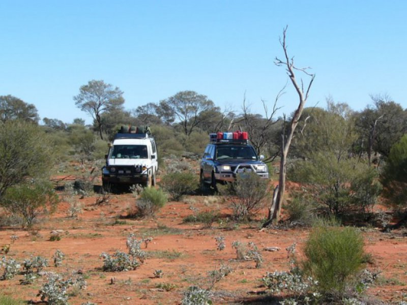 Gunbarrel Highway koffie stop West Australie - WA Experts